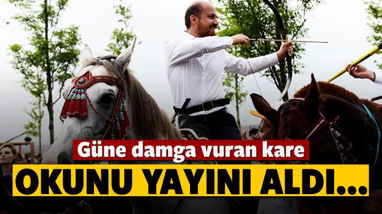 Bilal Erdoğan okunu yayını aldı pozunu verdi!