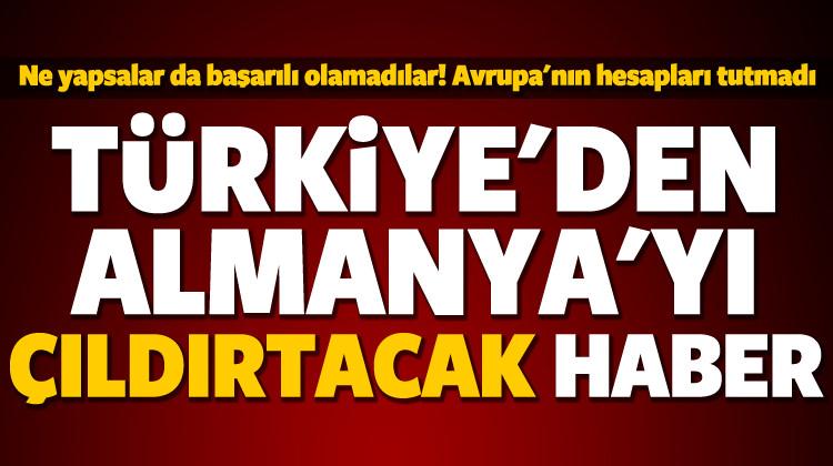Türkiye'den Avrupa'ya bir tokat daha