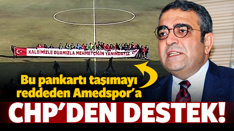 Sahadan çekilen Amedspor'a CHP'den destek!