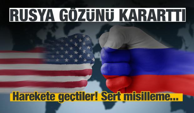 Rusya da harekete geçti! Flaş ABD kararı