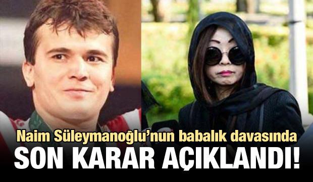 Süleymanoğlu'nun babalık davasında karar çıktı