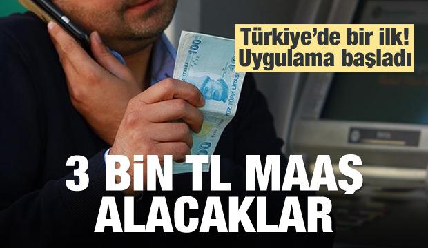 İşsiz kalanlara 3 bin TL maaş