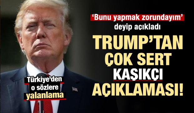 Türkiye'den Trump'ın 'Kaşıkçı' iddiasına yalanlama