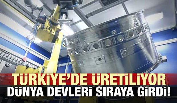 Türkiye'de üretiliyor! Dünya devleri sıraya girdi