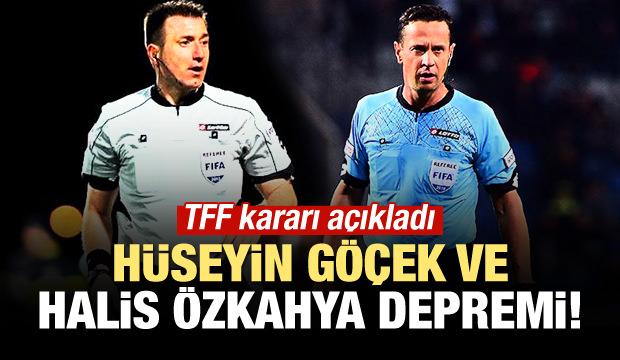 Hüseyin Göçek ve Halis Özkahya kararı açıklandı!