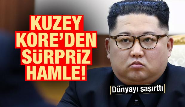 Kuzey Kore'den sürpriz hamle! Dünyayı şaşırttı