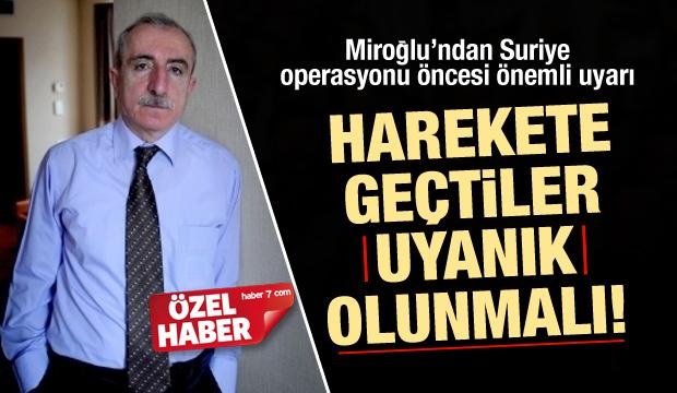 Miroğlu: HDP'nin istismarına karşı uyanık olun!
