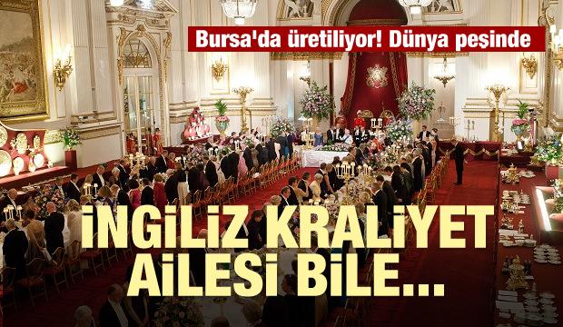 Bursa'da üretiliyor! Dünya peşinde...