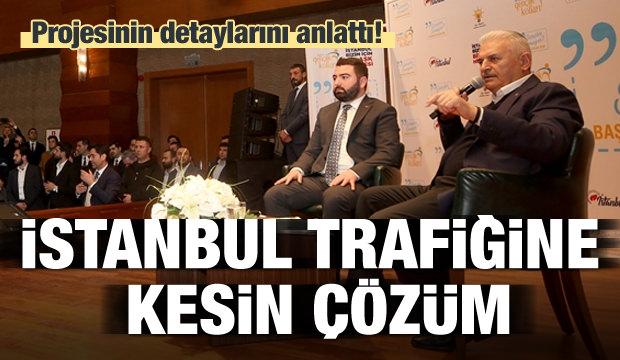 İstanbul trafiğine kesin çözüm! Yıldırım açıkladı