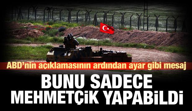 ABD'nin ardından bir DEAŞ açıklaması da Ankara'dan!
