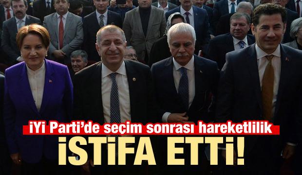 İYİ Parti'de deprem: Ümit Özdağ istifa etti