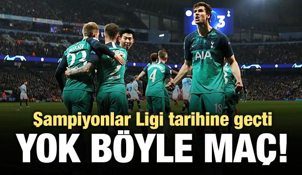 Şampiyonlar Ligi'nde 7 gollü tarihi maç!