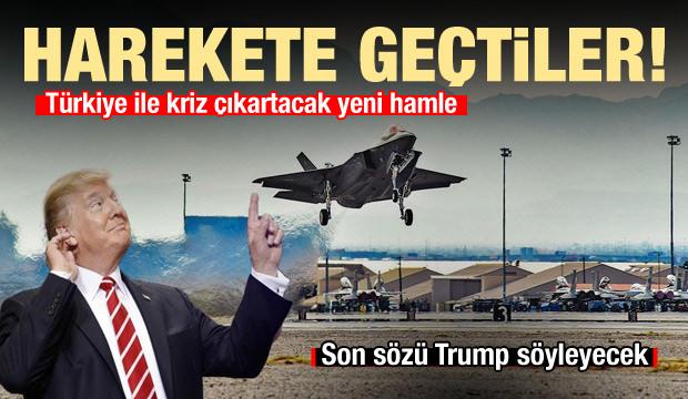 ABD'den Türkiye ile kriz çıkartacak yeni F-35 adımı! Harekete geçtiler