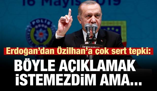 Erdoğan'dan çok sert uyarı: Bunu böyle açıklamak istemezdim ama...