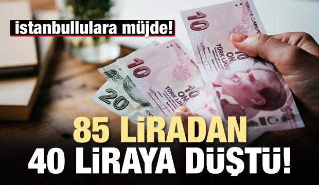 İstanbullulara müjde! Ulaşım ücretleri düştü