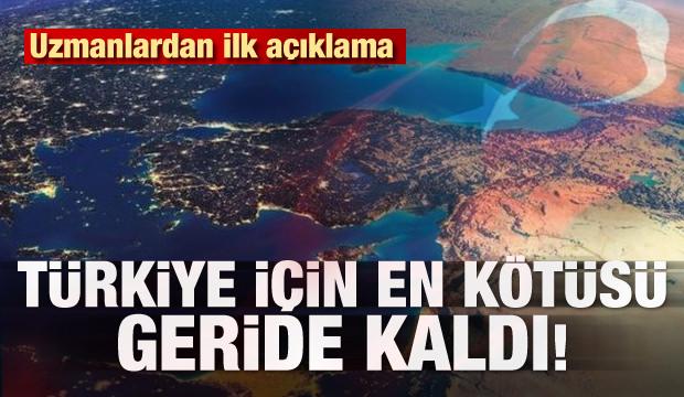 Uzmanlardan ilk açıklama! Türkiye için en kötüsü geride kaldı