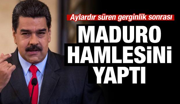 Maduro'dan yeni hamle... 'Erken seçime gidelim'