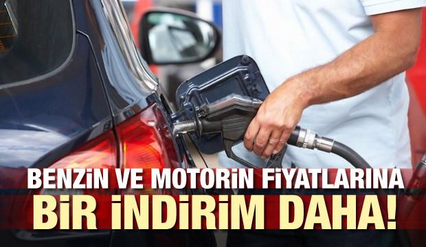 Benzin ve motorin fiyatlarına bir indirim daha