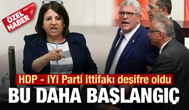 HDP - İYİ Parti ittifakı deşifre oldu! Bu kavga daha başlangıç