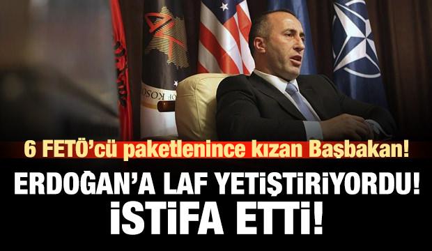 Başbakan Haradinaj istifa etti!
