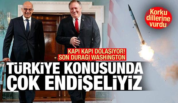 Yunanistan'ın korkusu diline vurdu! Türkiye'yi ABD'ye şikayet etti