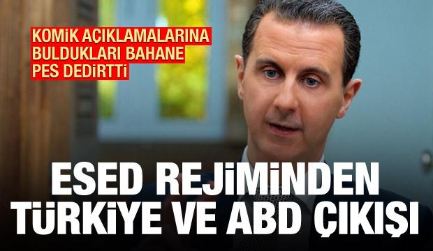 Esed rejiminden Türkiye ve ABD'ye 'uyarı': Reddediyoruz