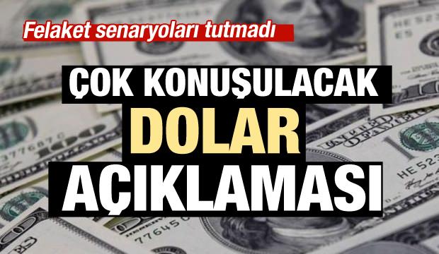 Faiz düştü dolar da düşecek