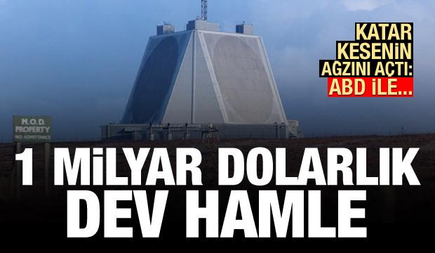 Katar kesenin ağzını açtı: 1 milyar dolarlık dev hamle! ABD ile...