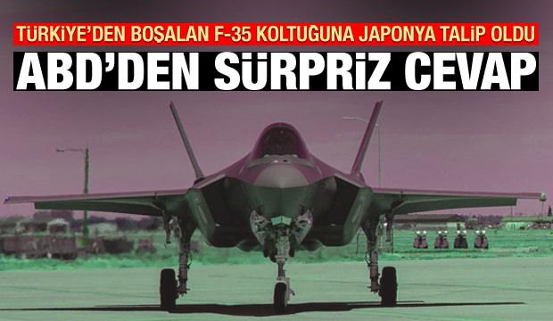 Türkiye çıkarılınca Japonya talip oldu! ABD'den sürpriz F-35 cevabı