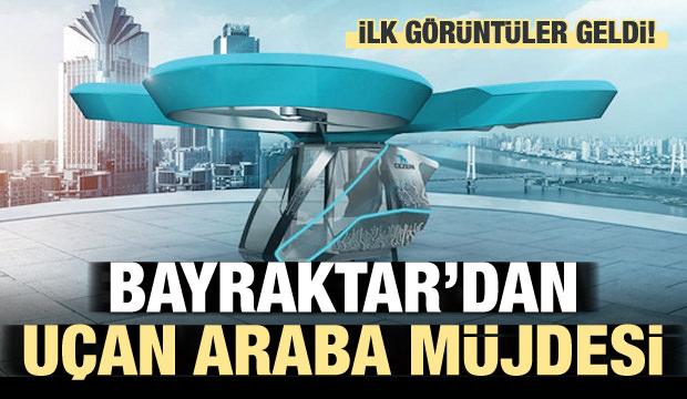 Bayraktar'dan milli uçan araba müjdesi