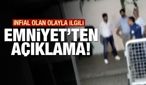 Eminönü'ndeki infial olan olayla ilgili Emniyet'ten açıklama!