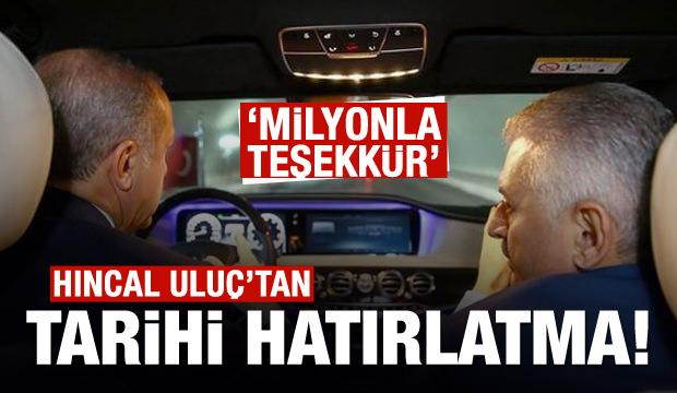 İzmir-İstanbul otoyoluyla ilgili tarihi hatırlatma!
