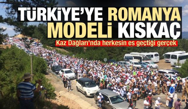 Kaz Dağları'nda herkesin es geçtiği gerçek! Türkiye'ye Romanya modeli