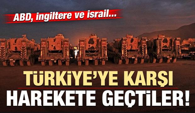 Suriye'de Türkiye'ye karşı yeni oyun! ABD, İngiltere ve israil...