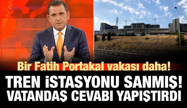 Fatih Portakal'dan bir şehir hastanesi vakası daha! Alay konusu oldu!