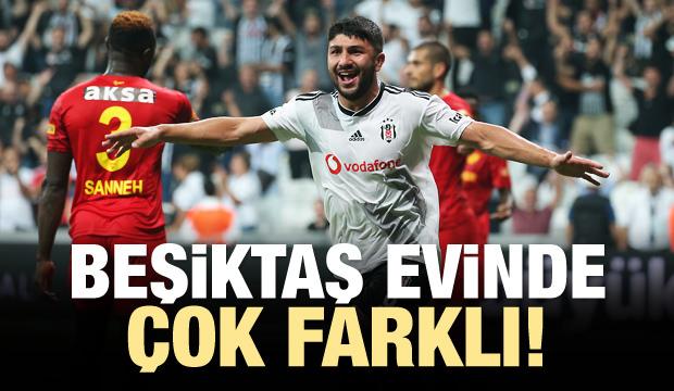 Beşiktaş evinde çok farklı!