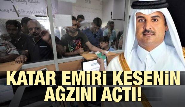 Katar Emiri kesenin ağzını açtı!