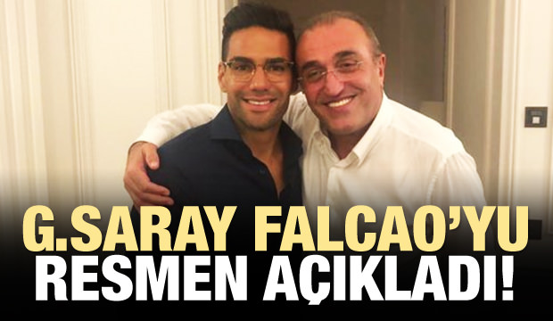 Galatasaray Falcao'yu resmen açıkladı!