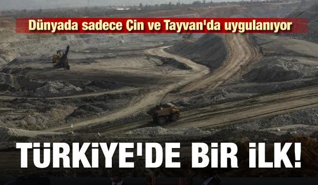Türkiye'de bir ilk! Dünyada sadece Çin ve Tayvan'da uygulanıyor