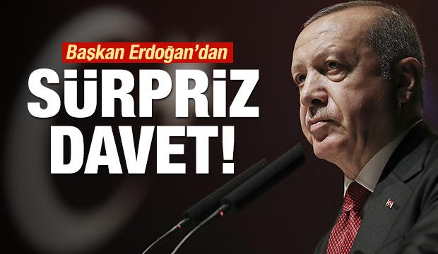 Erdoğan'dan tüm büyükşehir belediye başkanlarına davet!