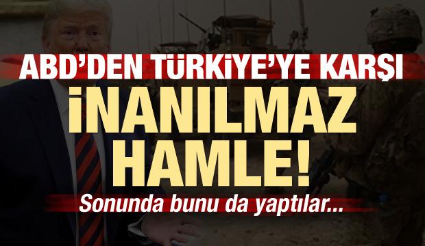 ABD'den Türkiye karşıtı inanılmaz hamle! Bunu da yaptılar...