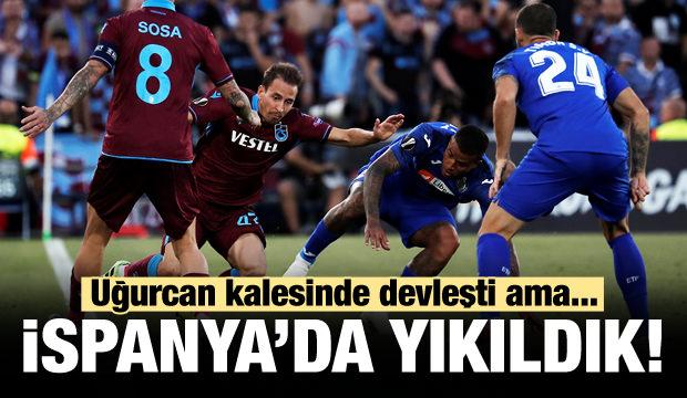 Trabzonspor İspanya'da yıkıldı!
