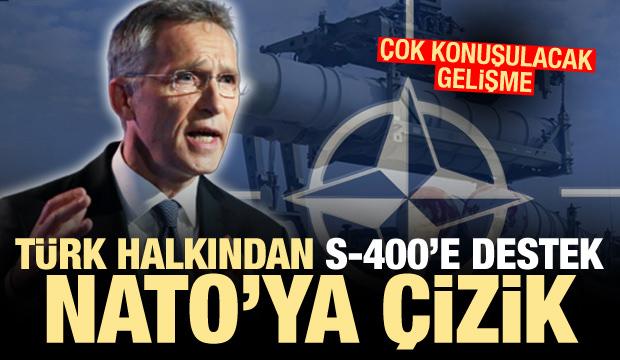 Çok konuşulacak gelişme! Türk halkından S-400'e destek NATO'ya çizik