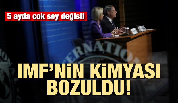 IMF'nin kimyası bozuldu! Türkiye tahminleri hep karavana...