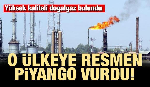 O ülkeye resmen piyango vurdu! Yüksek kaliteli doğalgaz bulundu