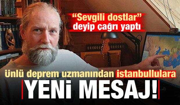 Ünlü deprem uzmanından yeni 'İstanbul' tweeti!