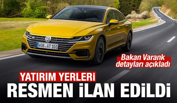 Bakan Varank'tan flaş 'Volkswagen' açıklaması