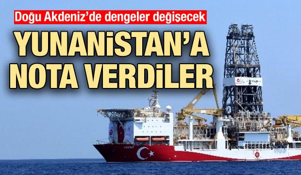 Doğu Akdeniz'de önemli adım: Yunanistan'a nota verdiler