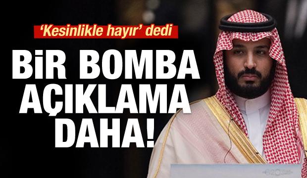 Prens Selman'dan çok konuşulacak sözler