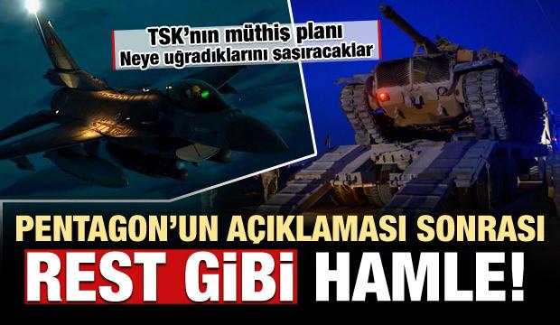 Ankara'dan Pentagon'un son açıklamasına karşı 'rest' gibi planlama